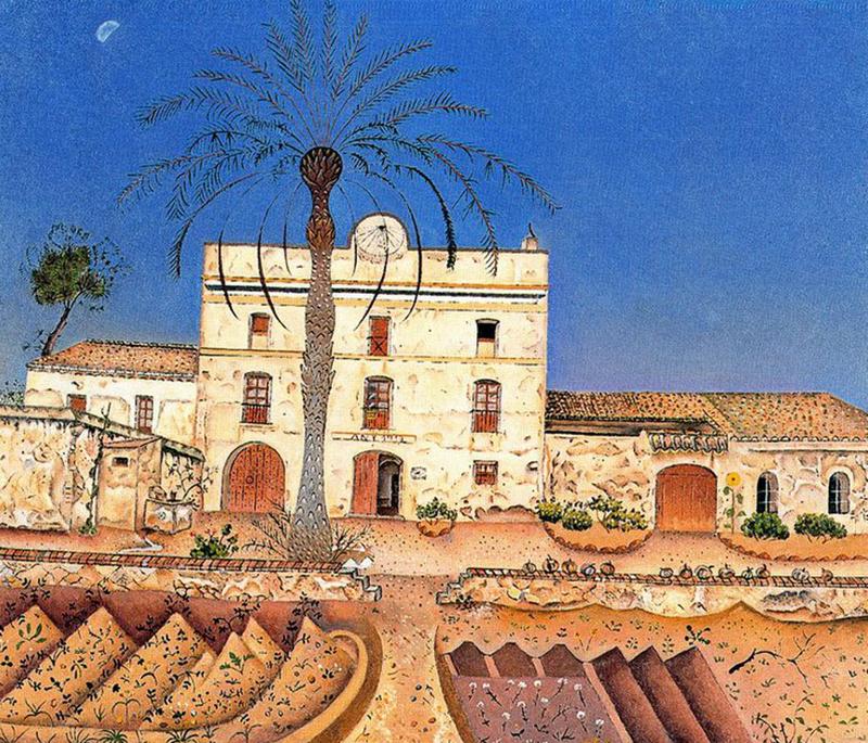 Miro mus e imaginaire suite for La maison du palmier