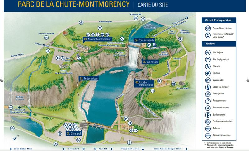 Canada Chutes De Montmorency
